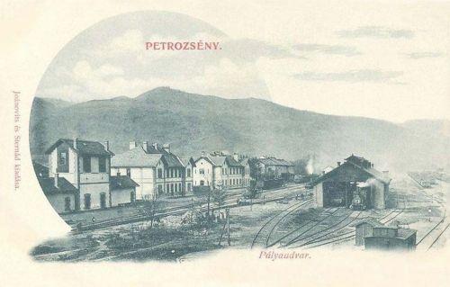 Petrozsény:pályaudvar.1902
