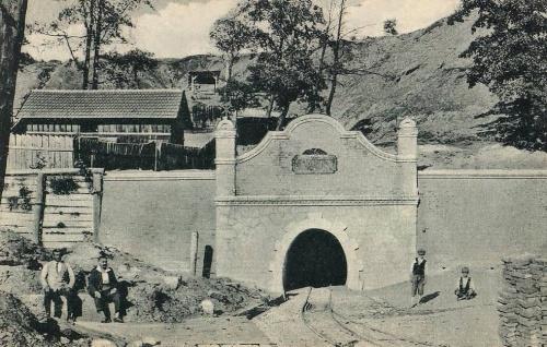 Petrozsény:bánya bejárata.1912