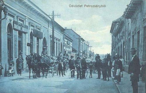 Petrozsény:fő utca.1910