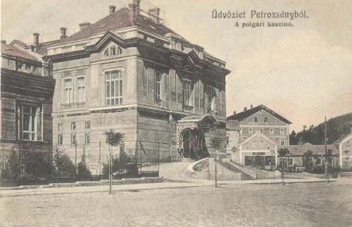 Petrozsény:polgári kaszinó.1914