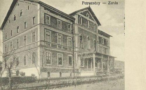 Petrozsény:zárda.1916