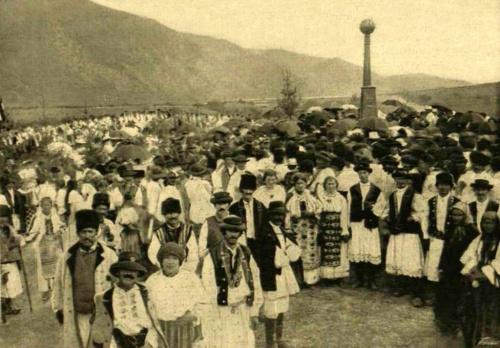 Vulkáni buzogány hasonmása Vaskapunál,1896 szeptember 6-án.