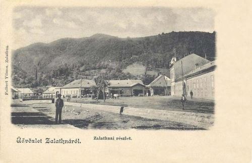 Zalatna-Goldenmarkt-Zlatna:főtér.1901