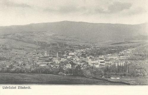 Zilah:látkép.1903