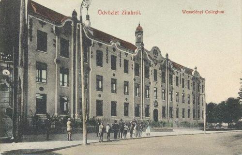 Zilah:Wesselényi kollégium.1910