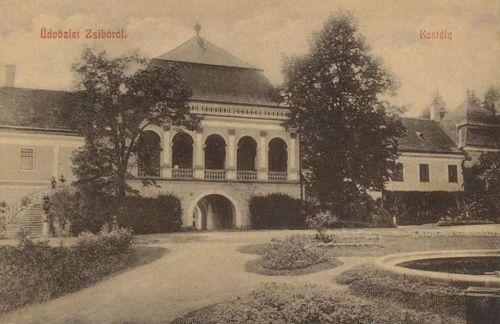 Zsibó-Siben-Jibou:báró Wesselényi kastély 1912