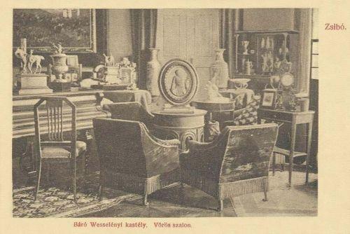 Zsibó:vörös szalon.1911