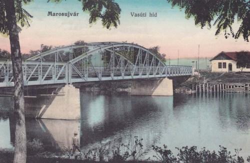 Marosújvár:vasúti hid.1912
