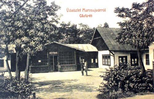 Marosújvár:gözfürdő.1909