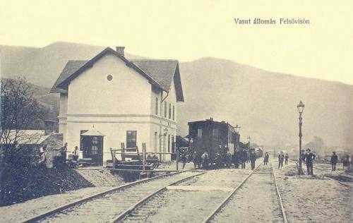 Felsővisó:vasútállomás.1911