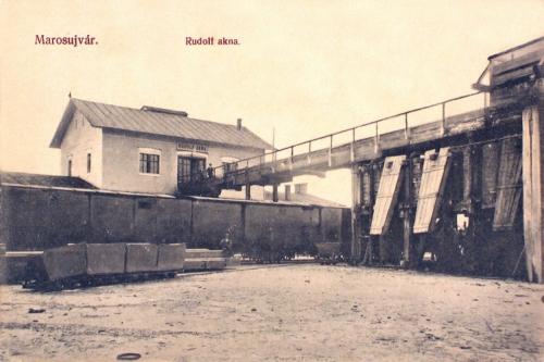 Marosújvár:Rudolf akna.1911