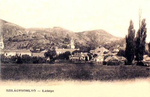 Szilágysomlyó:látkép.1905