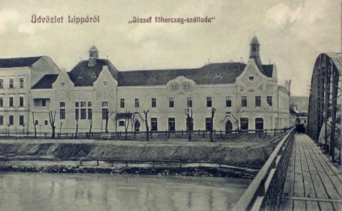 Lippa:József főherceg szálloda.1912