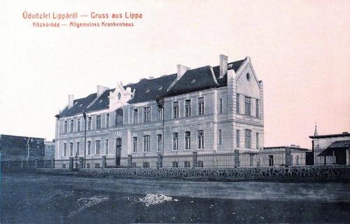 Lippa:Közkorház.1914