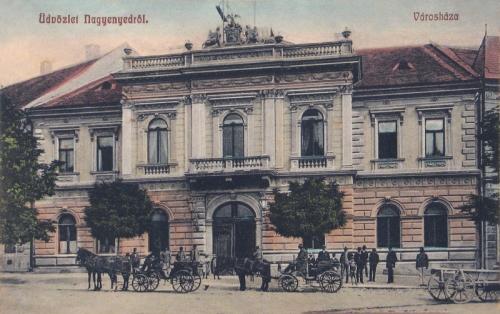 Nagyenyed:városháza.1909