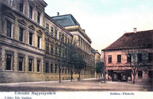 Nagyenyed:Bethlen Gábor református főgimnázium.1903