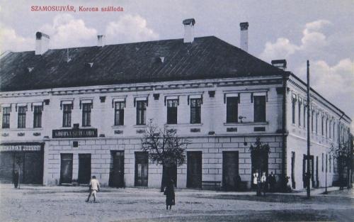 Szamosújvár:Korona szálloda.1911