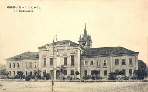 Szászsebes:evangélikus gimnázium.1912