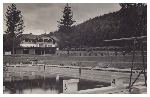 Maroshéviz:Bánffy strand és étterem.1943
