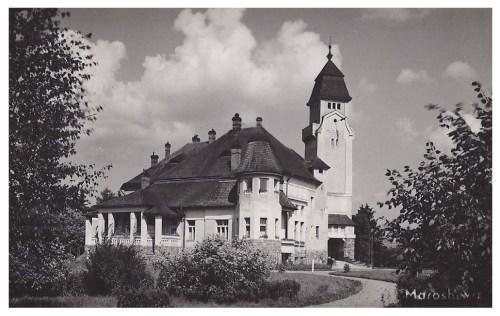 Maroshéviz:Urmánczy kastély.1940