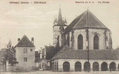 Szászsebes:evangélikus templom.1915
