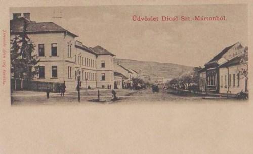 Dicsőszentmárton:utca.1903