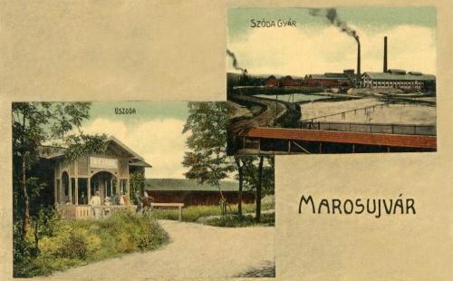Marosújvár:uszoda és szódagyár.1911