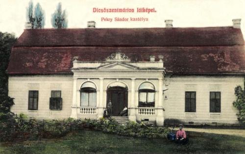 Dicsőszentmárton:Pekry Sándor kastélya,1908.