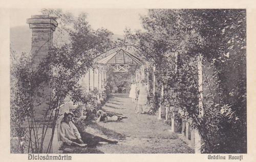 Diciosanmartin:Rákóczi kert,1930 körül.