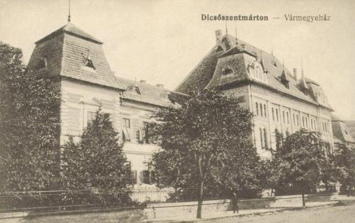 Dicsőszentmárton:vármegyeháza,1916.