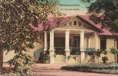 Dicsőszentmárton:Gál Béla féle kastély,1908.
