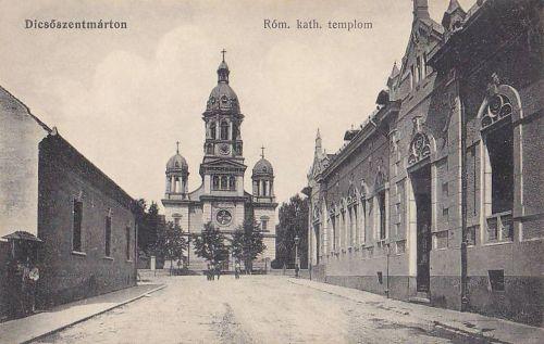 Dicsőszentmárton:katolikus templom.1915