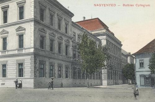 Nagyenyed:Bethlen kollégium.1910