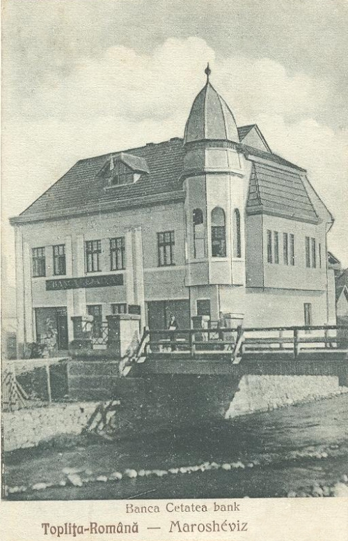 Maroshévíz:Cetatea bank.1927