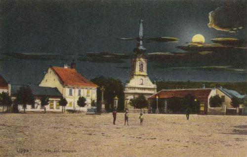 Lippa:templom éjjel.1915