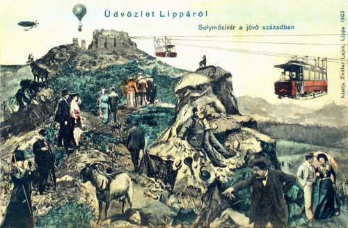 Lippa:100 év múlva a jovőben.1905
