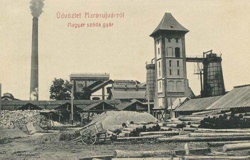 Marosújvár:magyar szóda gyár.1909