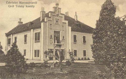 Marosújvár:Teleki kastély.1911