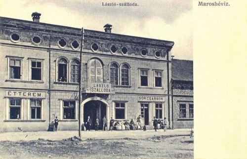 Maroshévíz:László szálloda,étterem,sörcsarnok(később Maros szálló)1907