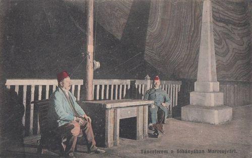 Marosújvár-Miereschhall-Ocna Mures:táncterem a sóbányában.1912
