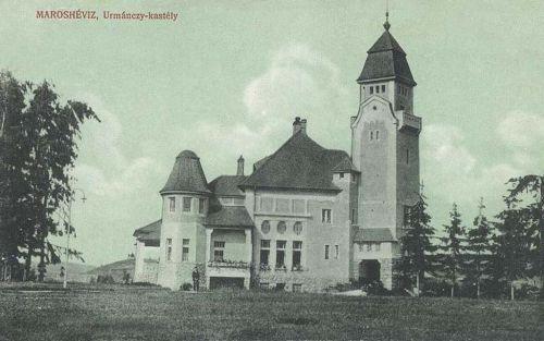 Maroshévíz:báró Urmánczy Nándor kastélya.1912