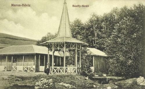 Maroshéviz:Bánffy fürdő,1907-ben.