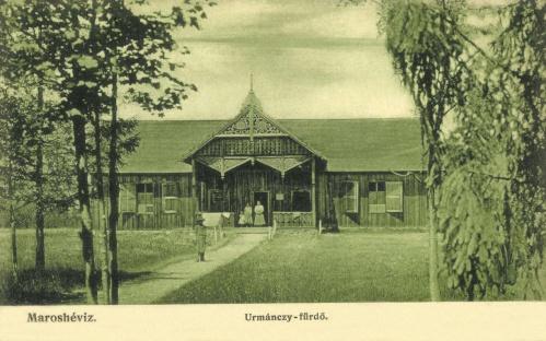 Maroshéviz:Urmánczy fürdő,1907-ben.