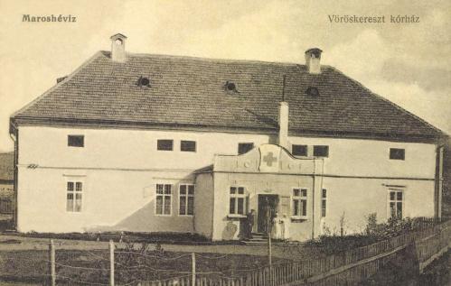 Maroshéviz:Vöröskereszt egylet korháza,1916.