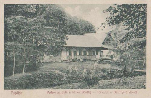 Maroshéviz:részlet a Bánffy fürdőből.1935