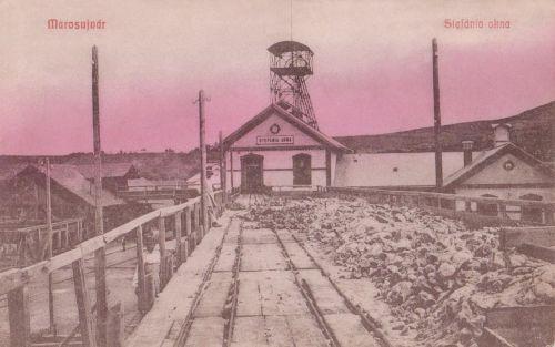 Marosújvár:Stefánia akna.1908