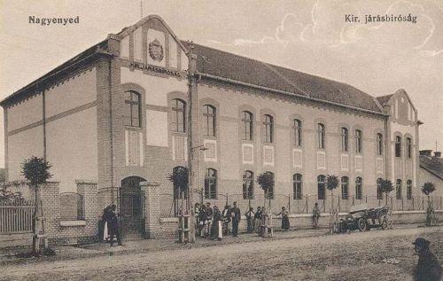 Nagyenyed:Járásbiróság.1915