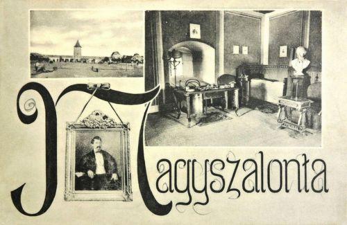Nagyszalonta:Arany János szobája.1907
