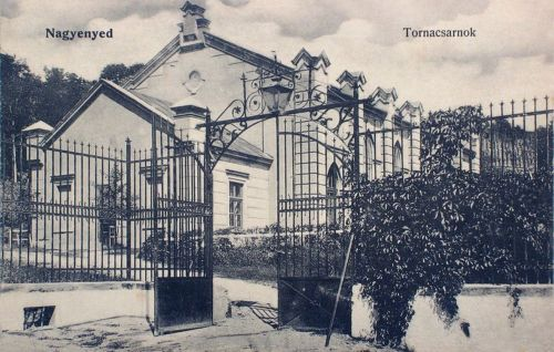 Nagyenyed:Tornacsarnok.1912