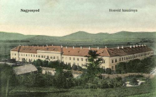 Nagyenyed:Honvéd Kaszárnya.1914